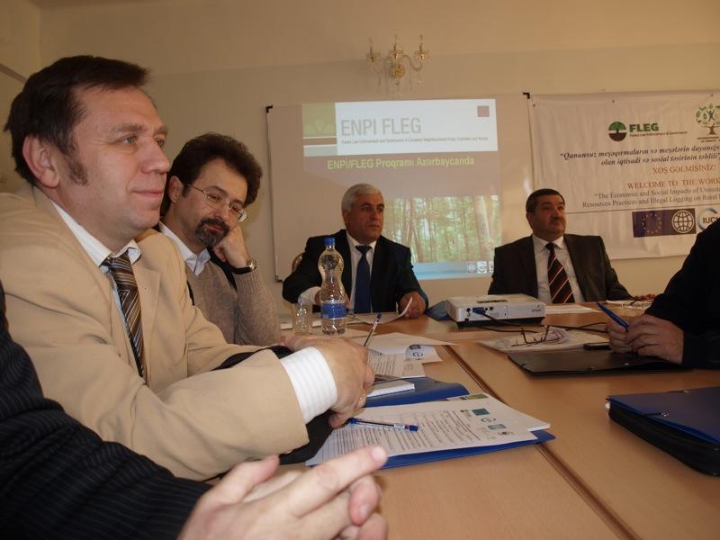 You are browsing images from the article: Українські експерти взяли участь у конференції Програми ENPI-FLEG в Азербайджані